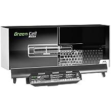 Green Cell® PRO Serie A32-K55 Batería para Asus F55 F55A F55C F75 F75A F75V F75VB F75VC F75VD R704 R704A R704V R704VB R704VC R704VD Ordenador (Las Celdas Originales Samsung SDI, 6 Celdas, 5200mAh, Negro)