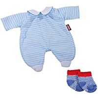 Gotz 3403085 Baby Doll Combo Smart Fellow - Size S - Dolls Clothing / Accessory Set - Suitable For Baby Dolls Size S (30 - 33 cm)