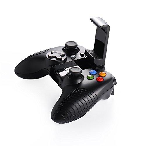 YKS Mando Inalámbrico para Juegos (con soporte para el móvil, conexión Bluetooth, batería litio) para Android / PC / Gafas VR
