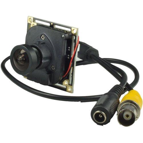 2,1mm Objektiv Spy Board Mini Weitwinkel Kamera Pinhole Kamera 1000TVL CMOS mit IR-Cut CCTV versteckte CCTV Sicherheit Kamera (Low Lux-pinhole)