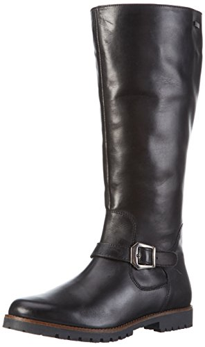 Caprice 25654, Stivali alti Donna, Nero (BLACK 001), 36 EU