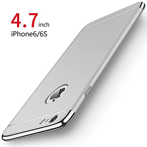custodia iphone 6 argento