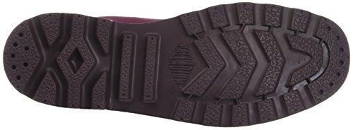 Palladium Pampa Hi Originale, Sneaker a Collo Alto Unisex – Adulto Rosso (Cabernet K66)