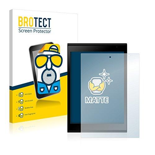 BROTECT Entspiegelungs-Schutzfolie kompatibel mit Jolla Tablet (2 Stück) - Anti-Reflex, Matt