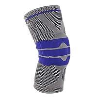 1f5a3205e450b قطعة واحدة من دعم اللياقة البدنية للجري والركبة للحماية من الصدمات، حمالة  صدر رياضية من