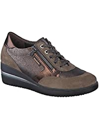 Mephisto Diane - Zapatos de cordones de Piel para mujer, color negro, talla 38.5 EU