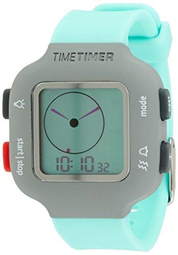 Time temporizador reloj de pulsera para mujer y niños gris con azul...