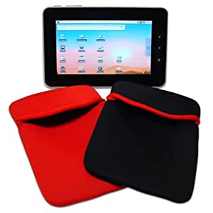 """Time2® 7"""" Android Tablet PC MID Netbook Sleeve Pouch Neoprene Protective Cover Case ePad aPad UK"""