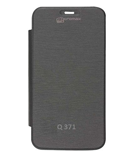 YGS Flip Cover Case For Micromax Canvas Pep Q371 -Black  available at amazon for Rs.199