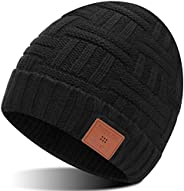 قبعة بلوتوث صغيرة هدية للرجال والنساء، قبعة بلوتوث 5.0 مع ميكروفون للاستخدام حر اليدين، قبعة رأس لاسلكية مع US