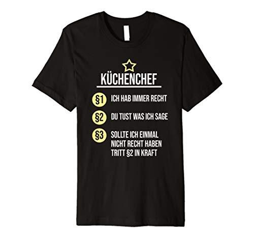 stige Sprüche Beruf Koch Kochen T-Shirt ()