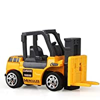 Construction Excavator Car Toys Push and Go Car Vehicles Toys for Kids 1PC(Forklift)