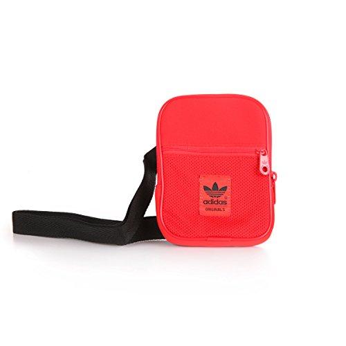 Adidas Festival Mini Bag (red/black) (Rote Mini-messenger Bag)
