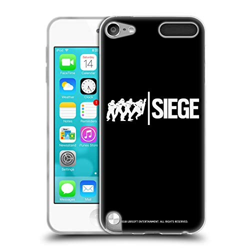 Head Case Designs Offizielle Tom Clancy's Rainbow Six Siege Angriff Logo Soft Gel Huelle kompatibel mit Apple iPod Touch 5G 5th Gen Sieg Ipod