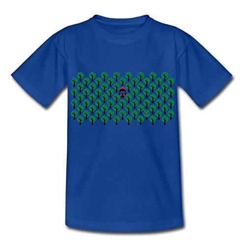 - Rotkäppchen Teenager T-Shirt, 134/146 (9-11 Jahre), Royalblau ()