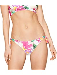 38637d83137 Mantaray Multi-Coloured Floral Print 'Hibi' Tie Side Bikini Bottoms