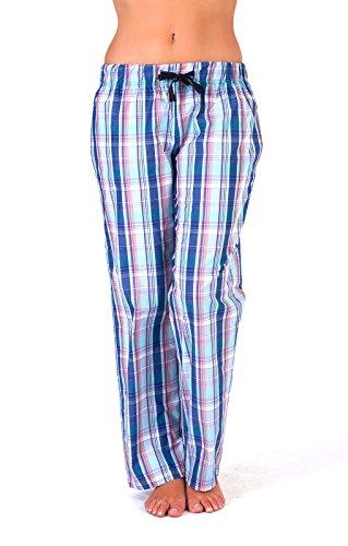 Lora Dora Womens Nightwear Sleepwear Casual Lounge Pants Ladies Checked Pyjamas PJ Bottoms Size UK 8-18 - 41s1G8dpq5L - Lora Dora Womens Nightwear Sleepwear Casual Lounge Pants Ladies Checked Pyjamas PJ Bottoms Size UK 8-18