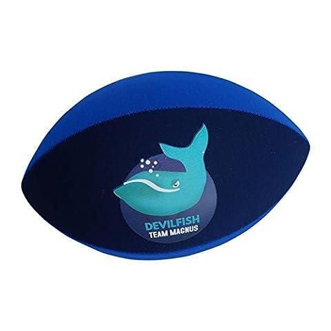 Neopren Rugbyball von Team Magnus (Marine / Blau)