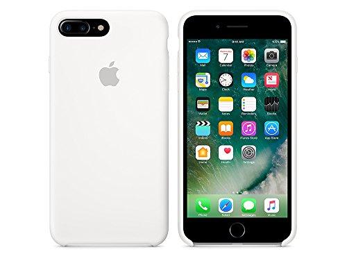 Apple MMYJ2ZM/A iPhone 7 Plus Leather Hülle schwarz weiß