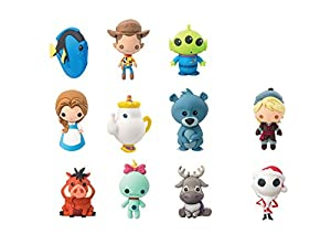 Disney Series 5 3D Foam Collectible Blind Bag Key Chains