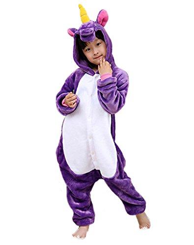 ma Schlafanzug Tier Kostüm für Halloween Einhorn Schlafanzug (Tm Kleinkind Kostüme)