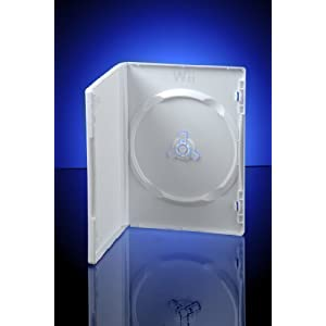 Wii DVD Aufbewahrungsboxen Hüllen 10-er Pack – Ersatzhüllen für Nintendo Wii spiele/CDs