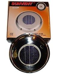 Aérateur solaire pour bateau - acier inoxydable