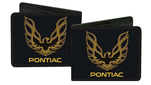 pontiac-automobile-company-firebird-logo-bi-fold-wallet