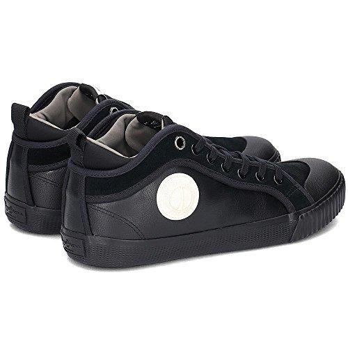 Pepe Jeans London Industry Sock, Scarpe da Ginnastica Basse Uomo Nero (Black)