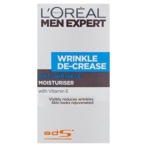 L\'Oreal Paris Men Expert Wrinkle De-Crease Moisturising Cream (50ml)