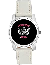 BigOwl Princesses Are Born In April | Birthday Gifts For Girls Fashion Watches For Girls - Awesome Gift For Daughter...