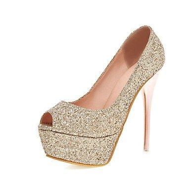 Reluzentes Toe 5 Platform 5 Noite Casamento Zormey Us10 Sapatos Agulha Eu42 Rosa Cn43 Uk8 Amp Partido Aberto Dedo Salto amp; Vestido Peep Mulheres Sapatos BEUqZBY