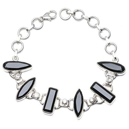 stargemstm-natural-black-onyx-and-white-topaz-925-sterling-silver-bracelet-6-7-3-4