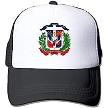Osmykqe República Dominicana Sombrero de Malla Mujer Surf Gorro de béisbol Camionero 03VV9192