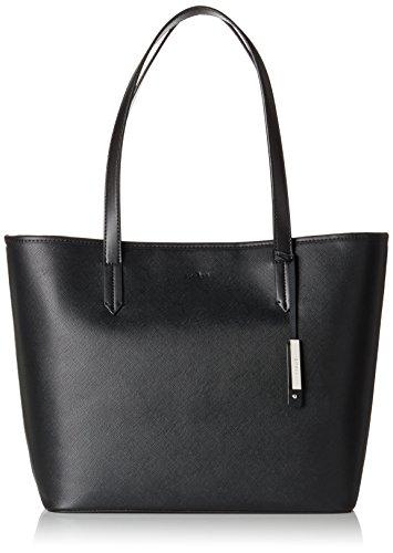 Esprit Accessoires Damen 078ea1o050 Schultertasche, Schwarz (Black), 13x30x33 cm