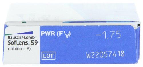 16c8002a30d61 Bausch   Lomb - Soflens 59 Esféricas - Lentes de Contacto Mensuales - Pack  de 6