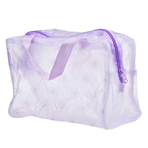 DUNDUNGUOJI DUNDUNGUOJI Make-Up Pouches Women Make up Bag Portable Make up Kosmetic Bag Toiletry Travel Wash Zahnbürste Pouch Organizer Bag Tools 23cm*13cm*9cm/Lila
