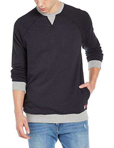 Herren Sweater DC Core Crew Fleece Sweater Black