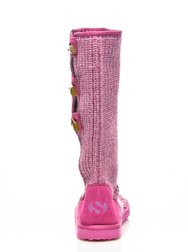 Stiefel - 4247-knitsuew Fuxia