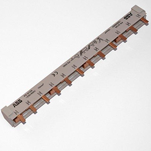 Preisvergleich Produktbild ABB Sammelschiene PS3/12A pro M compact, ablängbar, Pins ausbrechbar 10²