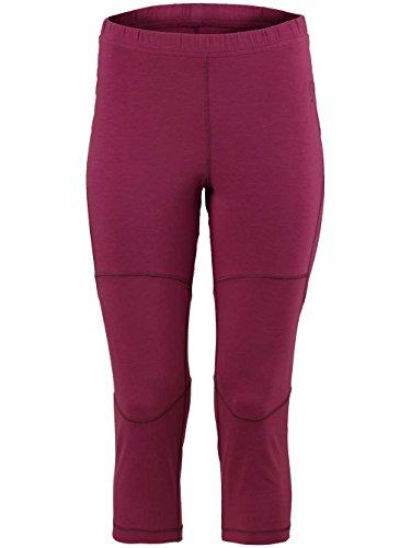 Damen Skiunterwäsche Scott Base Dri 3/4 Funktionshose sangria purple