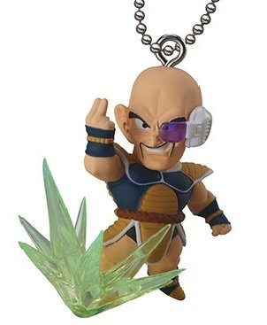 Spielzeug Gogeta Dragon Ball Z (Dragon Ball Z & GT ~UDM The Best 07~Ultimate Deformed Mascot~Figure Swing Keychain~Nappa~42mm)
