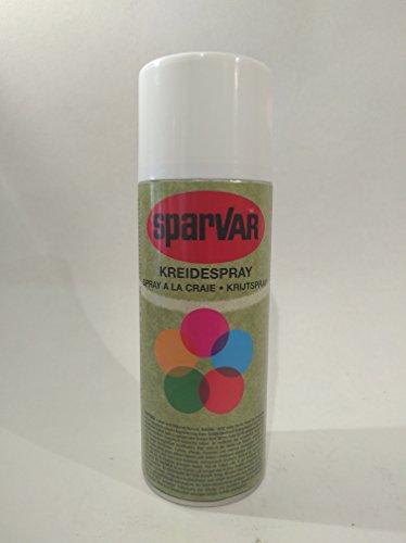 SparVar Kreidespray mit Überkopfdüse, 400 ml, weiß, 6001135