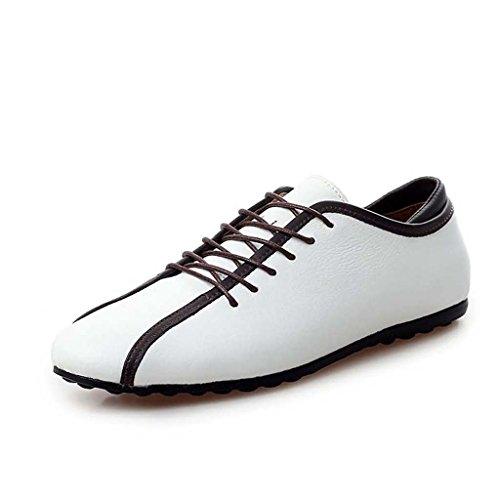 ZXCV Chaussures de plein air Chaussures à lacets décontractées ( Couleur : Blanc , taille : 41 ) Blanc