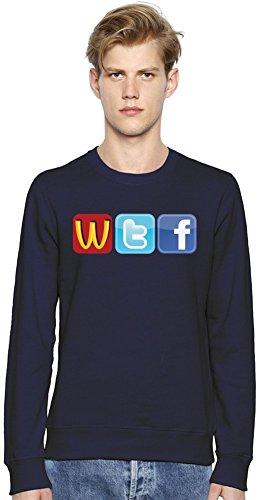 Logo Fun WTF McDonalds Twitter Facecbook Unisex Sweatshirt Small