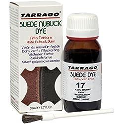 Tarrago Suede Nubuck Dye - Tinta para ante y nubuck, zapatos y bolsos, Unisex adulto, Azul (Azul Marino 17), 50 ml