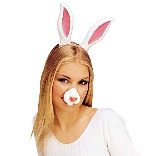 Hasennase Hase Nase Bunny Tiernase Kaninchen Schnauze Hasenschnauze Tierkostüm Zubehör Kostüm (Nase Kostüme Bunny)