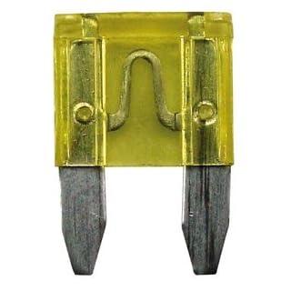 Altium 822620 Pack of 5 Mini Fuses, 20 A