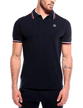 WOLDO Athletic Poloshirt Herren Polohemd Polo Hemd Shirt kurzarm