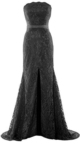 MACloth - Robe - Bandeau - Sans Manche - Femme Noir